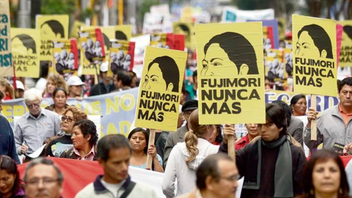 Marcha Fujimori Nunca Más